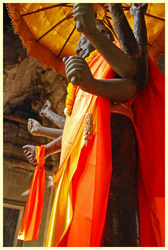 Angkor Wat Vishnu