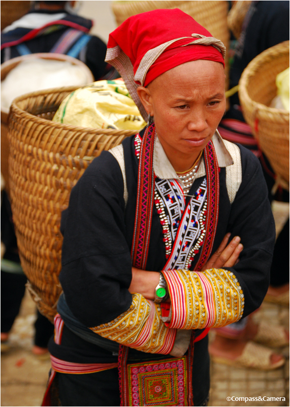 Red Dao Hill Tribe