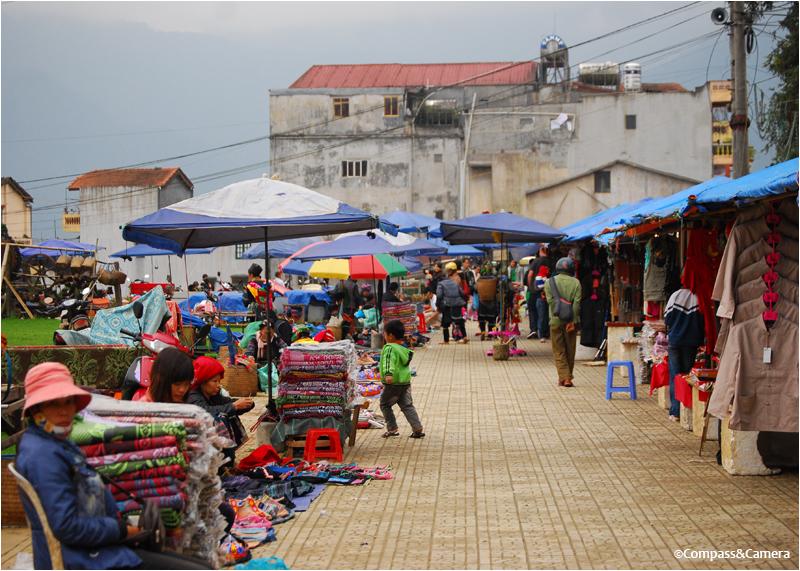Sa Pa weekend market