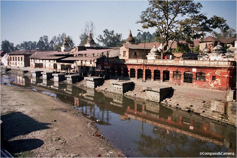 The Bagmati River at Pashupatinath