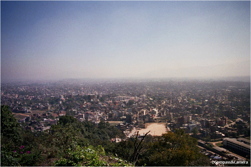 Kathmandu from the Monkey Temple