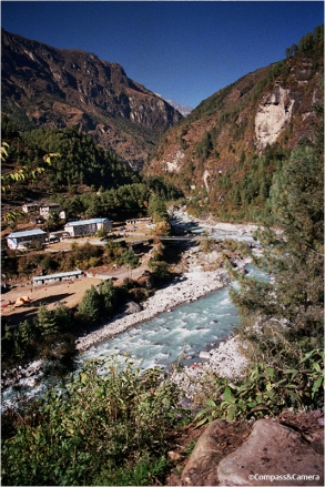 The Dudh Kosi near Lukla