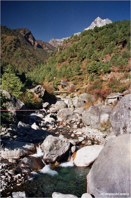 Trail near Phakding