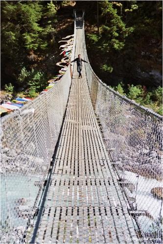 Bridge over the Dudh Kosi