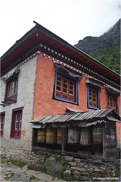 A guesthouse in Phakding