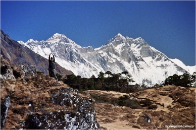 This way to Mount Everest