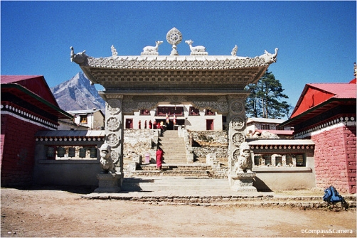 Gate to Tengboche