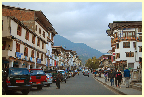 Downtown Thimphu