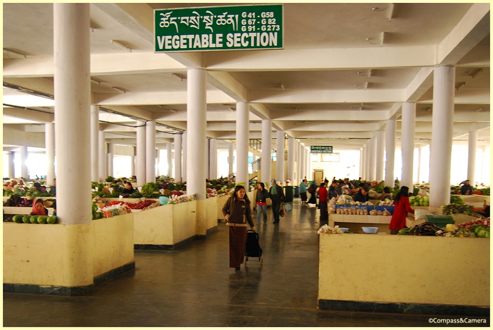 The produce market
