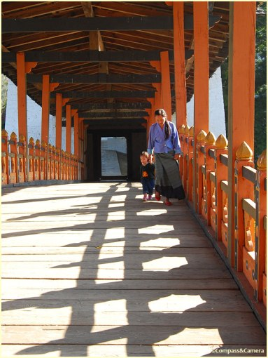 Bridge to Punakha Dzong