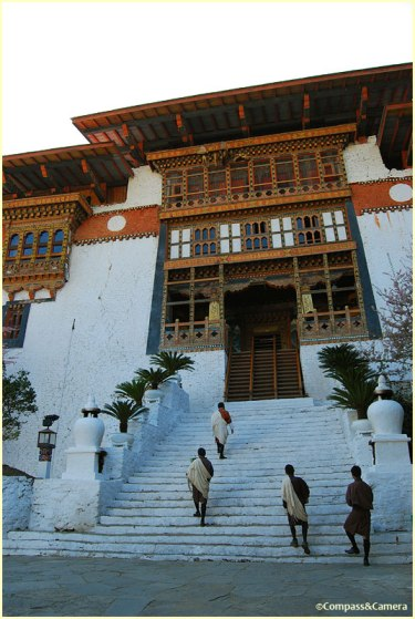 Entrance to Punakha Dzong