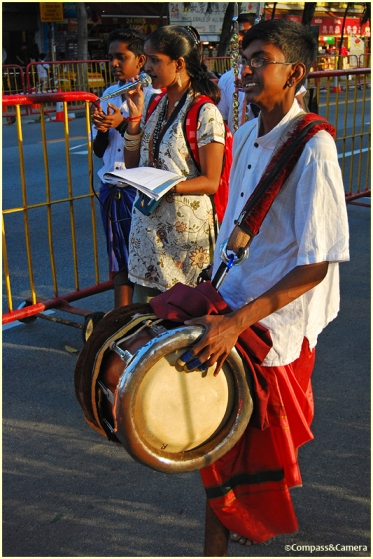 Thaipusam Drummer