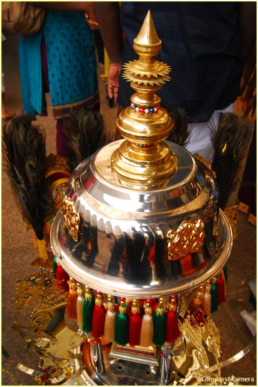 Top of a Kavadi