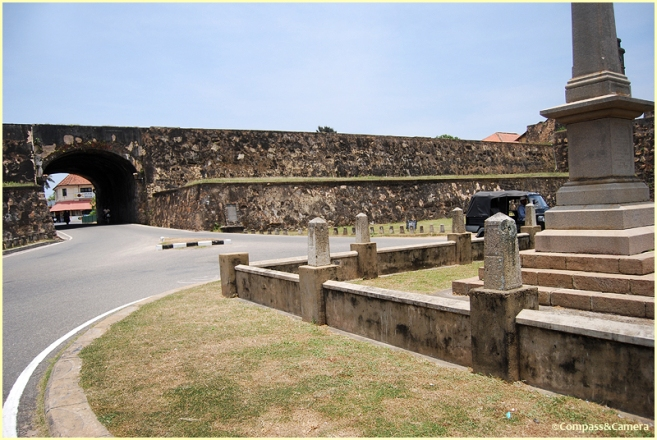 Entering the walled city