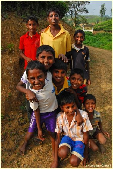 All smiles in Sri Lanka