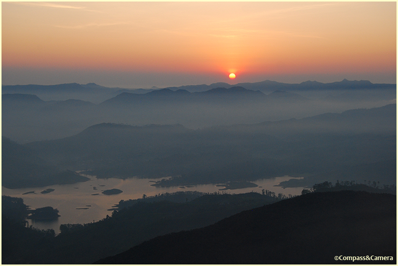 Sunrise from Adam's Peak