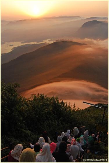 Descent from Adam's Peak