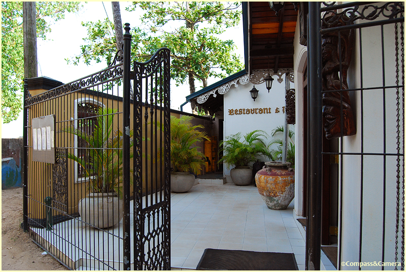 Entrance of the Villa Hotel, Unawatuna
