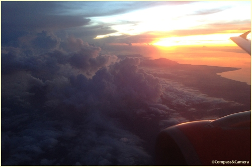 Sunset into Bali