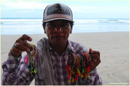 Norman the bracelet seller
