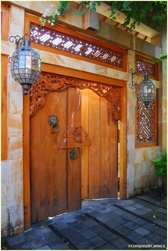 Gate to the villa