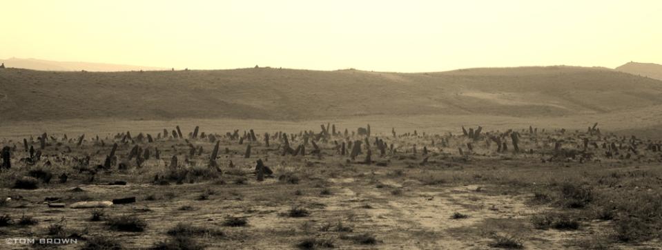 A rural cemetery