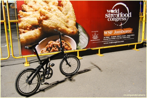 Street bikes and street food