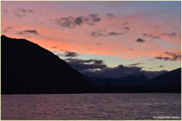 Sunset at Lake Wanaka