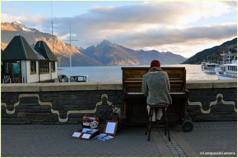 Music on Lake Wakatipu
