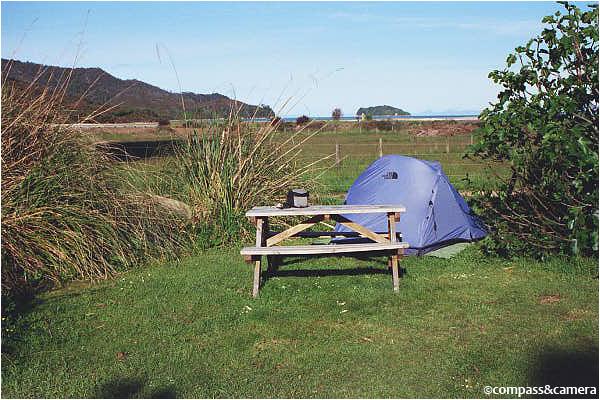 Tent Camp at Marahau