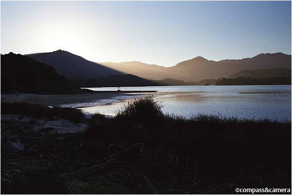 Sunset at Awaroa