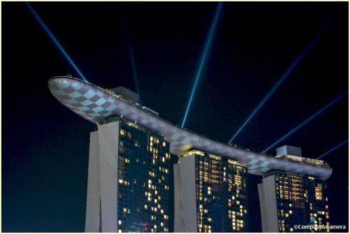 Laser light show...