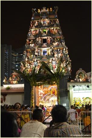 Outside Sri Mariamman Temple