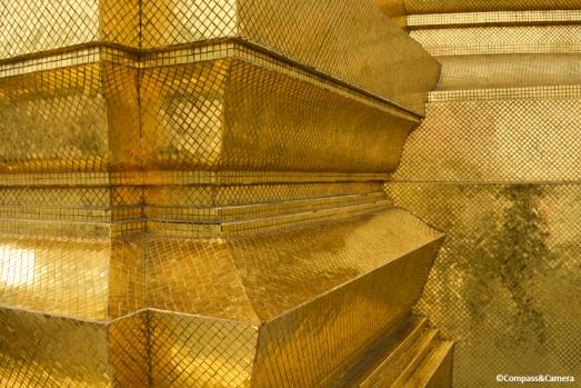 Gold tile details