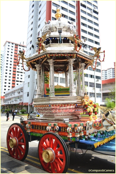The Silver Chariot of Thaipusam