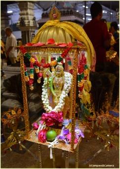 Top of a chariot kavadi
