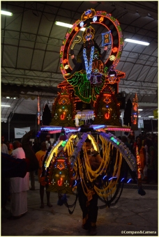 Electric chariot kavadi