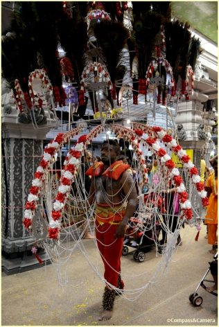 Chariot kavadi carrier