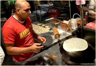 Indian Mexican burrito vendor in Taiwan