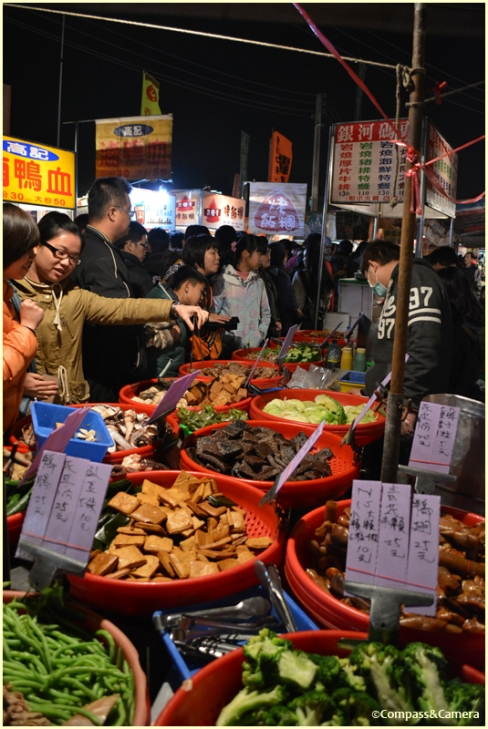Bargain bins at Tainan Night Market