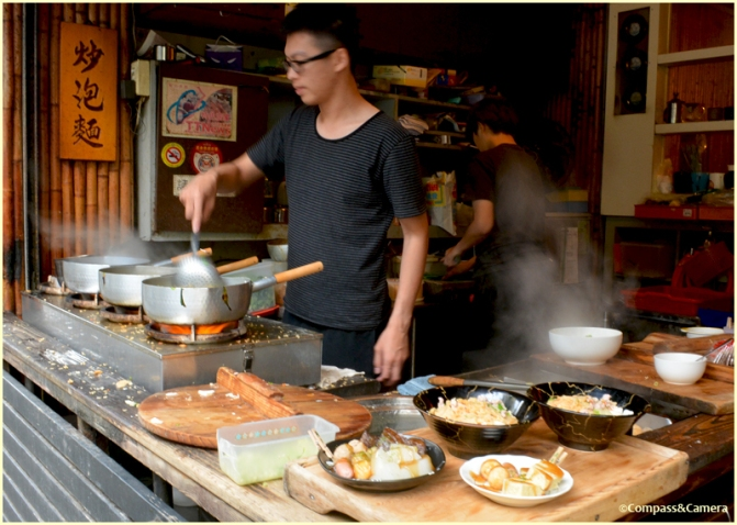 Cooking up a storm in Tainan