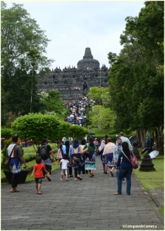 Stairs to Borobudur