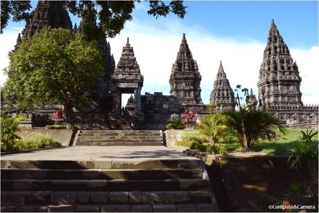 South entrance of Candi Prambanan