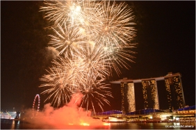 National Day Fireworks, Singapore