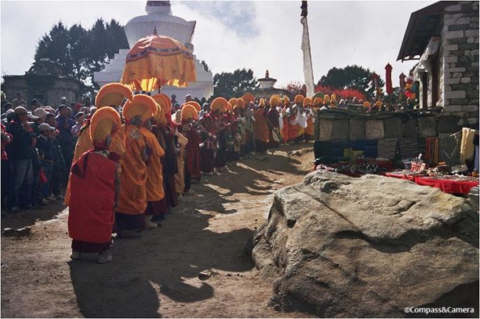The Monks of Tengboche