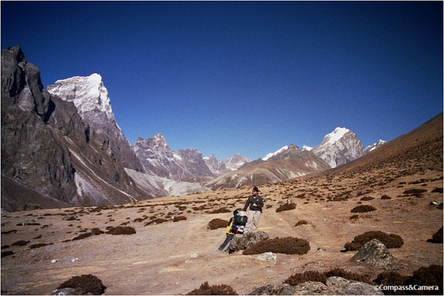 Above Dingboche