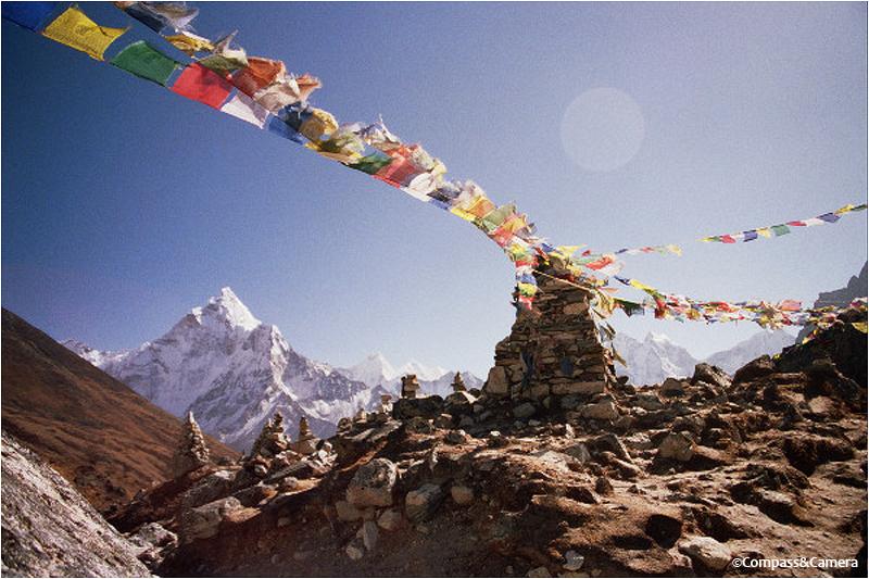 Monument to Babu Chiri Sherpa