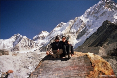 The glacial valley of the Khumbu