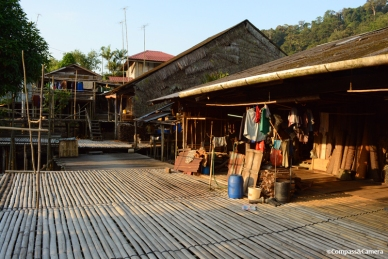 Authentic traditional longhouse