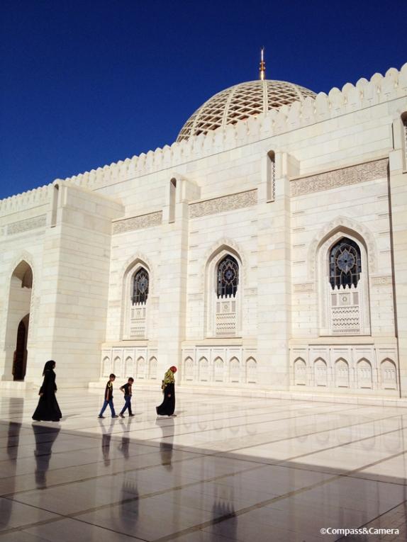 Oman's Sultan Qaboos Grand Mosque